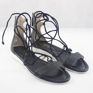 Cole Haan Or Grand Lace-Up Sandals Black 5M